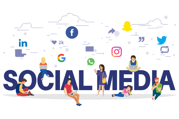 Competition Over Social Media